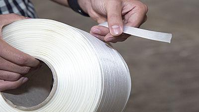 Feuillard en polyester (PET)